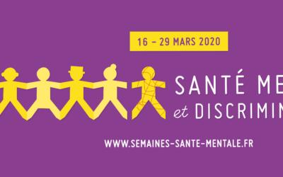 Semaines d'information sur la santé mentale du 16 au 29 mars 2020